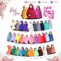 hijab instan syari instant kerudung khimar jilbab Asma Azkia hijab
