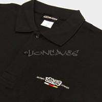 Original Mugen Power Polo Shirt - Kaos Polo Mugen Power Size L - Black