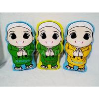 Bantal Custom Karakter Boneka Muslim