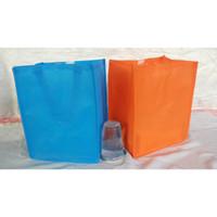 TAS SPUNBOND POLOS 20x15 Medium Goodie bag Souvenir Ultah Wedding