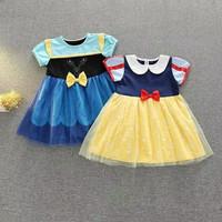 baju bayi dress anak perempuan disney princess frozen n snow white