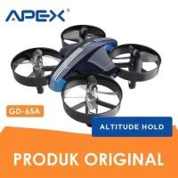MiniDrone Altitude hold Apex GD-65 GD65A mini drone