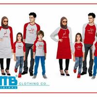 Baju Kaos Pasangan Keluarga Couple Family Anak Ayah Bunda VT-025