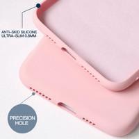 Liquid Silicone Case Vivo V11 Pro Premium Soft Baby-Skin