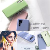 Liquid Silicone Case Huawei P30 / P30 Pro Luxury Softcase Baby-Skin