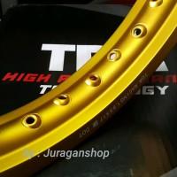 VELG TDR W Shape 185 x 17 Gold Matte