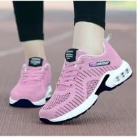 Sepatu keys wanita adidas neo pink cewek