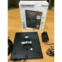 ANTENA TV TOYOSAKI AIO-220 OUTDOOR INDOR DIGITAL ANALOG