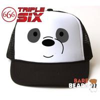 Topi Trucker We Bare Bears Panda