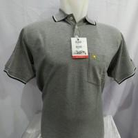 Kaos Kerah Pria Polo Shirts Arnold Palmer Original Abu Muda