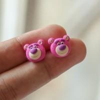 anting tusuk anak boneka teddy bear lotso toy story