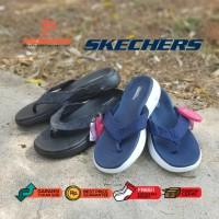 (Garansi Termurah) Sandal Jepit Wanita Pria Skechers Vivacity Go 600