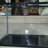Aquarium Fiber Armada L 40cm 25 liter Hitam Nikita Bahari Iglass