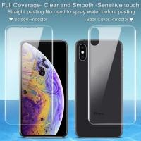 Iphone X XS XR Anti Gores Screen Protector Depan Belakang Ip X XS Max