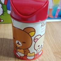 ORI KOREA Tempat Sampah Basket Rilakkuma READY STOCK - Merah