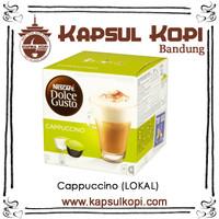 Cappuccino Kapsul Kopi LOKAL Nescafe Dolce Gusto NDG Coffee Capsule