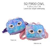 TAS LUNCHBOX SEQUIN SELEMPANG UNICORN / OWL