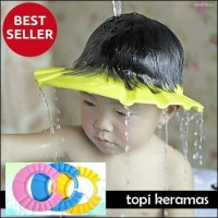 Topi keramas Anak Bayi Perlengkapan Mandi Kids Shower Cap