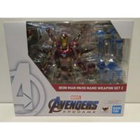 SHF Iron Man Mk 50 Nano Weapon Set 2 Avengers Endgame End Game