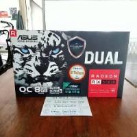 ASUS RX 580 8GB DUAL OC DDR5