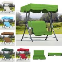 Outdoor Garden Swing Bench Hammock Canopy Waterproof Top Cover