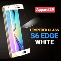 Tempered Glass Samsung S6 EDGE White Anti Gores GALAXY S6 Edge