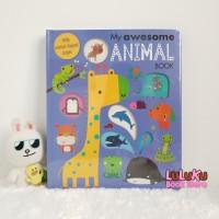 Buku Import Edukasi Anak tentang Hewan - My Awesome Animal Book