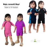 Baju renang bayi , baju renang anak perempuan size 6-24 bulan