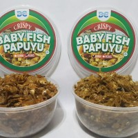 Camilan Ikan Baby fish Papuyu @150 gr Oleh oleh Khas Nusantara (Gurih)