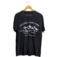 T-shirt explore - travel & hiking
