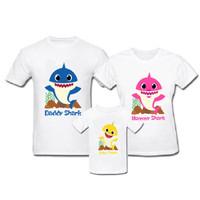 Family Baby Shark Sea - Kaos Family - Baju keluarga