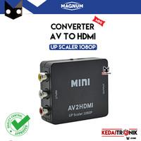 Converter AV RCA to HDMI MAGNUM AV2HDMI mini Adapter 1080p Box Power