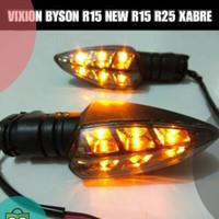Lampu sen/sein yamaha new vixion/r15/mx king/xabre/aerox/universal