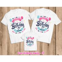Kaos Ulang Tahun | Baju Couple Family Birthday