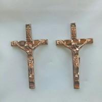 Liontin bandul charm kalung/anting salib yesus kristus model13