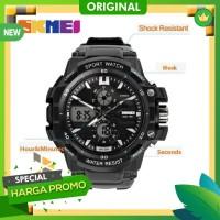 New Original Jam Tangan Digital Pria Watch SKMEI 0990 Original Water