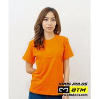 Kaos Polos Cotton Combed 20s Lengan Pendek Dewasa XS s/d XL