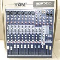 MIXER AUDIO 8 CHANNEL TUM EFX8
