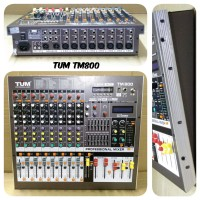 MIXER AUDIO 8 CHANNEL TUM TM800