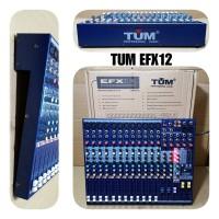 MIXER AUDIO 12 CHANNEL TUM EFX12 PROFESIONAL AUDIO