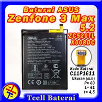 Baterai ASUS Zenfone 3 Max ZC520TL X008DC C11P1611 batre batere batrai