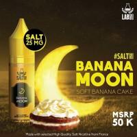 Banana Moon Salt Nic 15ML by Lab51 - Soft Banana Cake Salt Liquid Pods