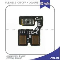 Flexible On Off Asus Zenfone 2 Laser ZE550KL Z00LDD Tombol Power Z00LD