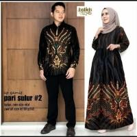 Batik Solo Couple Gamis Pari Sulur 2 Venus Batiksoloamanah 170.000