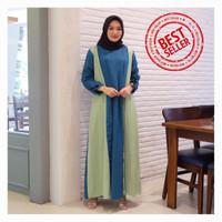 New Gamis Syari Maxi Mica / Dress Muslim Arabian Crepe Premium