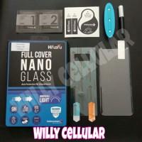 Tempered Glass 5D Samsung S8 - Full Cover UV Nano Glass - Hikaru