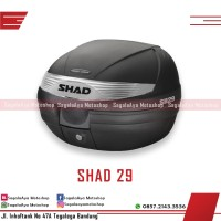 Box Motor SHAD SH 29 black silver