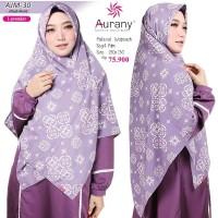 Jual Jilbab Motif Aurany AJM 30 warna lavender