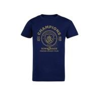 T-Shirt Mancity Back2Back Champions 18/19 (Free Poster & Stiker)