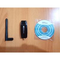 USB WIFI WIRELESS ADAPTER 300 MBPS REALTEK 8192 WITH ANTENA
